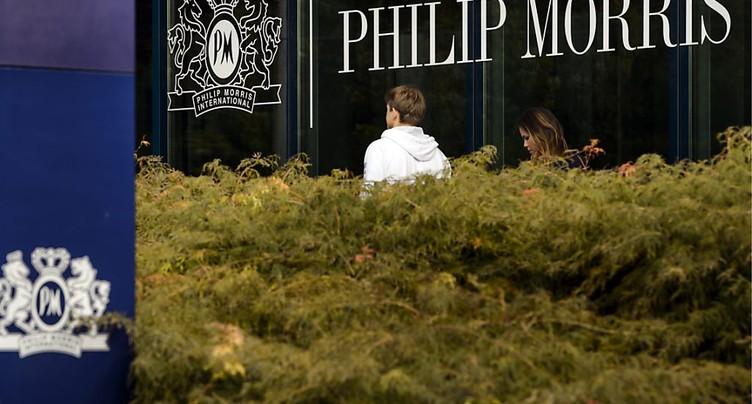 Philip Morris, sponsor du pavillon suisse, persiste et signe