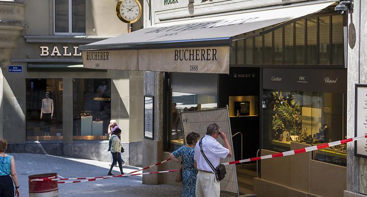 Une bijouterie attaquée au centre de Lausanne