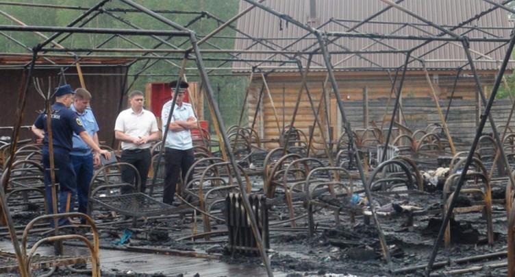 Quatre enfants tués dans un incendie dans une colonie de vacances