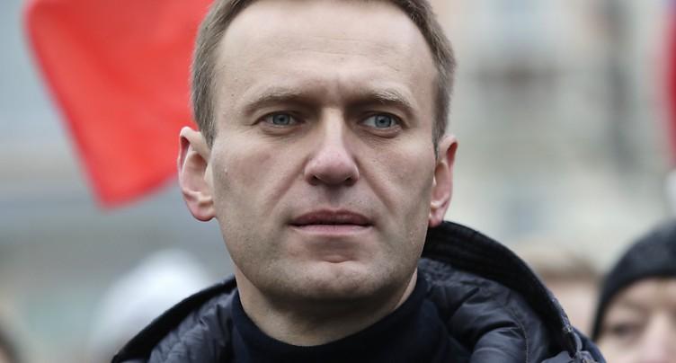 L'opposant Alexeï Navalny annonce avoir été arrêté