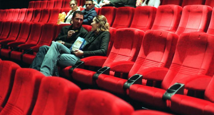 Moins de cinémas, mais pas moins de salles en Suisse