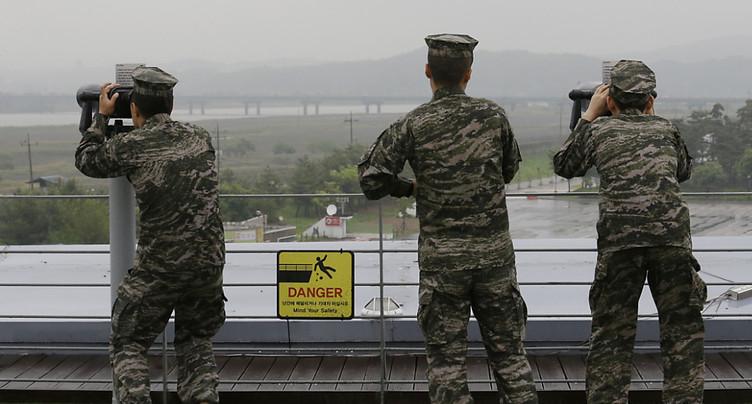La Corée du Nord a tiré deux « projectiles non identifiés »