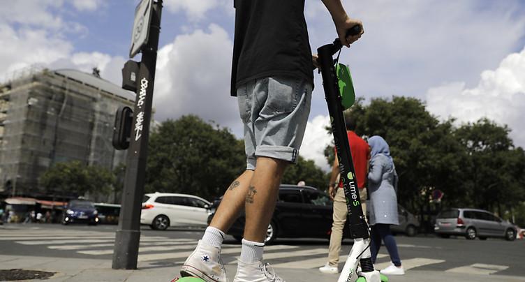 Milan interdit provisoirement les trottinettes électriques