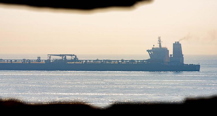 Washington émet un mandat pour saisir un pétrolier iranien relâché
