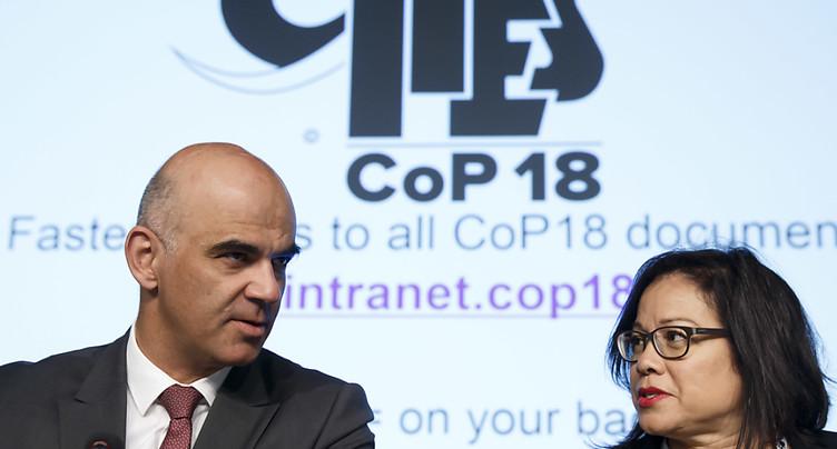 Protection des espèces: Alain Berset veut des réponses « fermes »