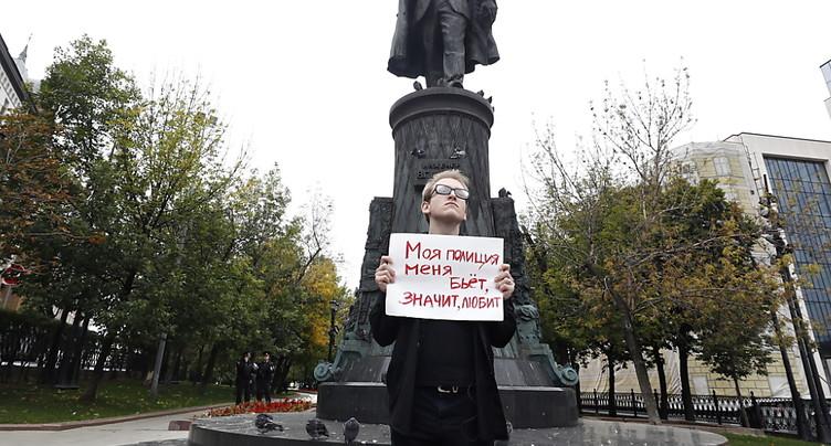 A Moscou, mobilisation « en solitaire » pour des « élections honnêtes »