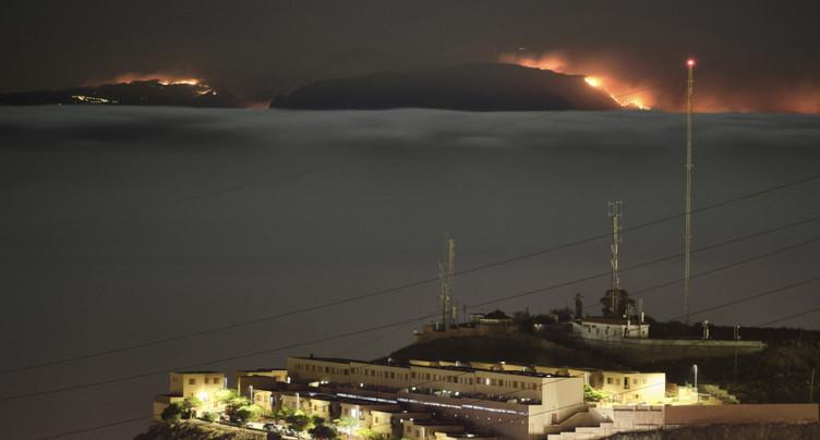 « Drame environnemental » à la Grande Canarie, ravagée par un feu