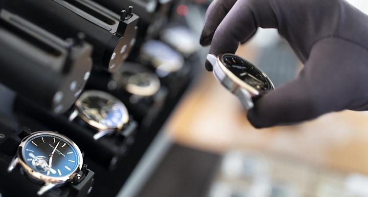 Les exportations horlogères s'inscrivent en hausse en juillet