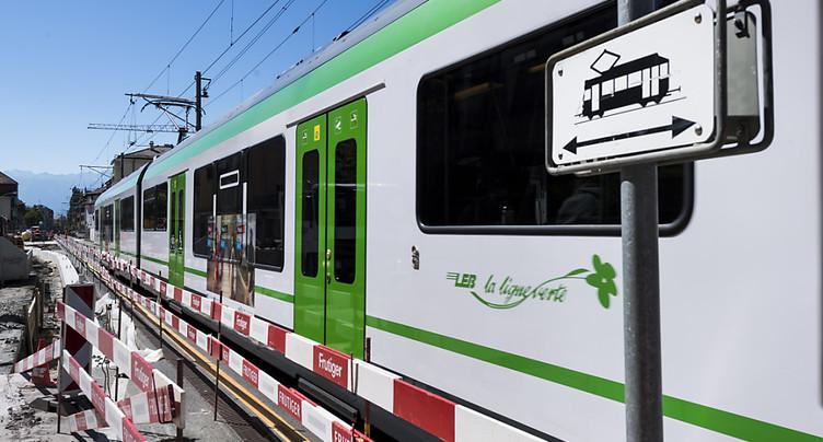 Lausanne: un octogénaire renversé par le LEB à l'avenue d'Echallens