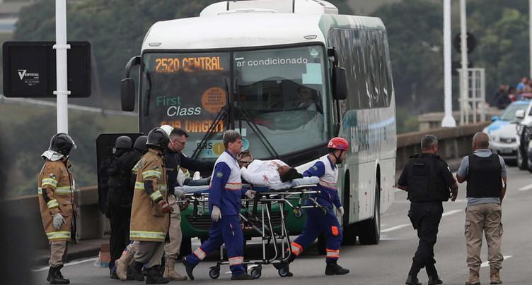 Prise d'otages dans un bus à Rio: le ravisseur abattu par la police