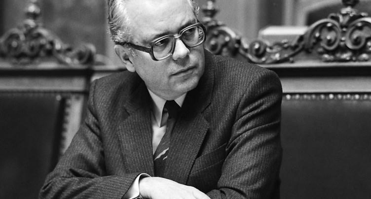 L'ancien chancelier Walter Buser est décédé