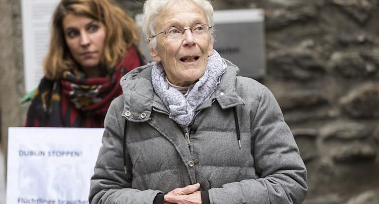 Anni Lanz à nouveau jugée pour avoir secouru un Afghan débouté