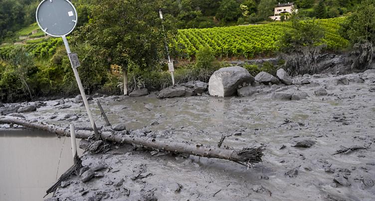 Disparus à Chamoson: des pièces de la voiture retrouvées
