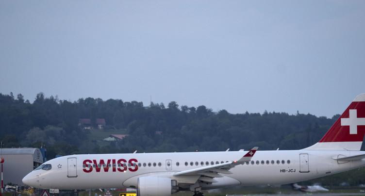 Un avion Swiss a perdu des pièces de moteur au-dessus de la France
