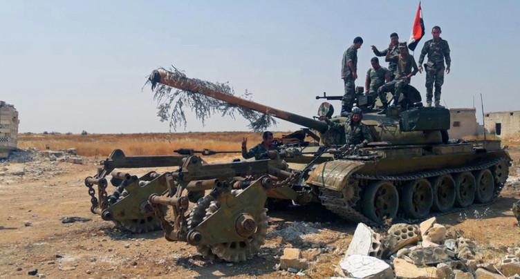 Le régime syrien prend le contrôle d'une ville stratégique à Idleb