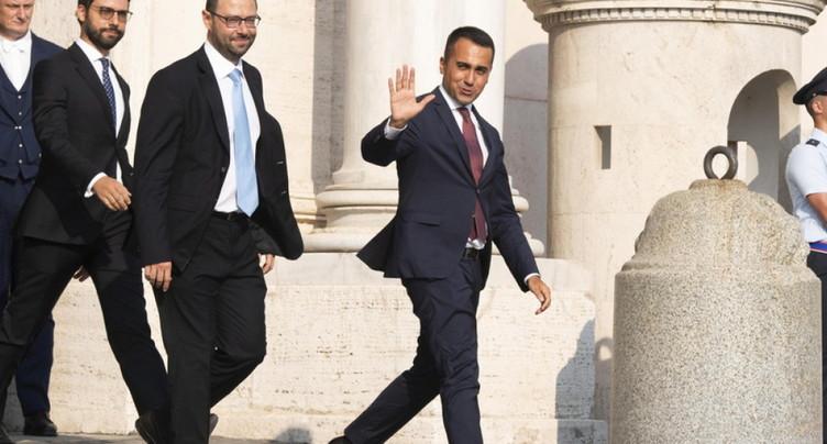Deuxième jour de consultations en Italie pour tenter de sortir de la crise