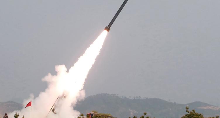 La Corée du Nord tire de nouveaux « projectiles non identifiés »