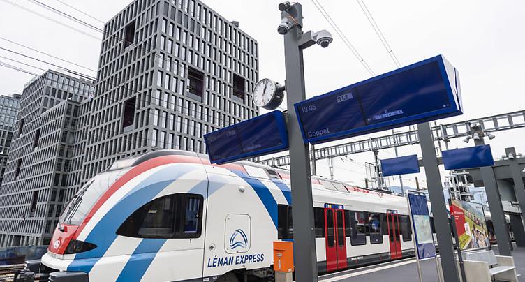 Le canton de Genève espère un succès aussi grand que celui du M2