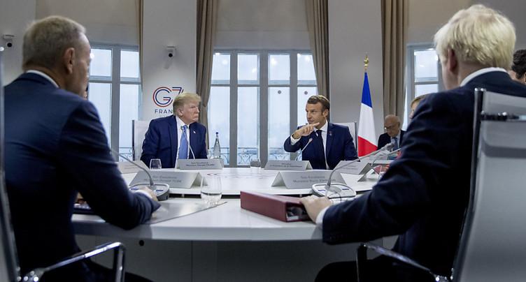 Trump et Macron se contredisent sur le dossier iranien