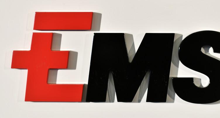 Bénéfice net en hausse pour Ems-Chemie au premier semestre