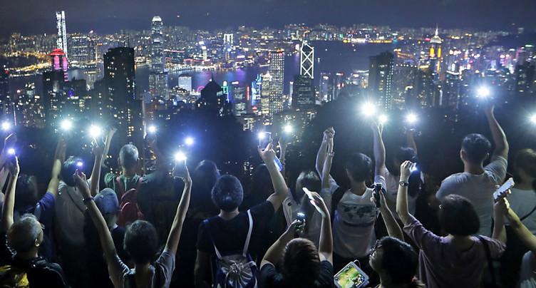 Hong Kong: le militant pro démocratie Joshua Wong demande le soutien de Trump