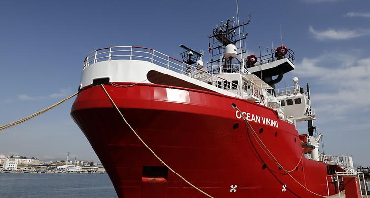 L'Italie autorise l'Ocean Viking à débarquer à Lampedusa