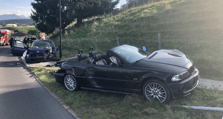 Un automobiliste ivre et sans permis provoque un accident à Le Bry
