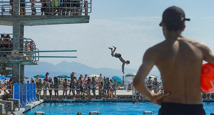 Fréquentation en baisse dans les piscines romandes