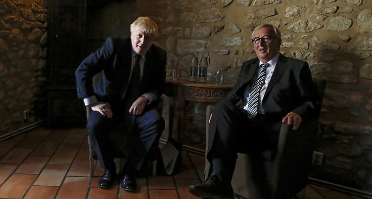 Brexit: l'UE reste sur sa faim après la rencontre Juncker-Johnson