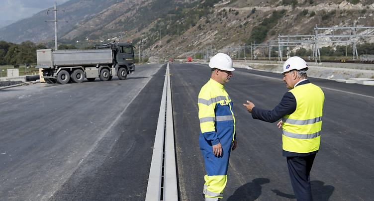 Les travaux du contournement sud de Viège démarrent