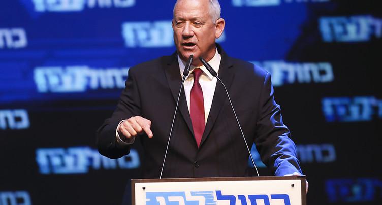 Gantz appelle à la formation d'un gouvernement israélien d'union