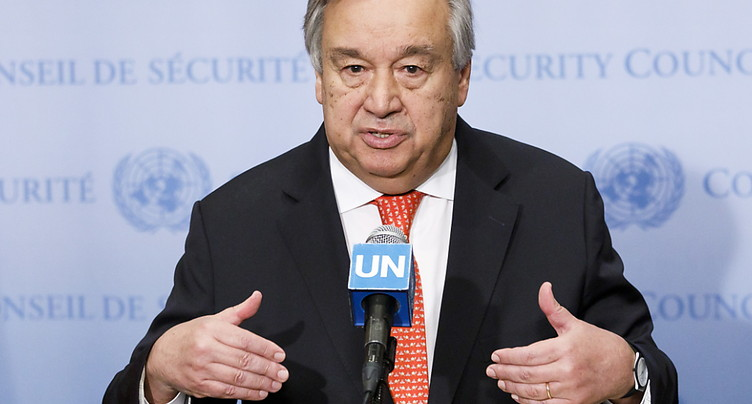 « Nous sommes en train de perdre la course » du climat, dit Guterres