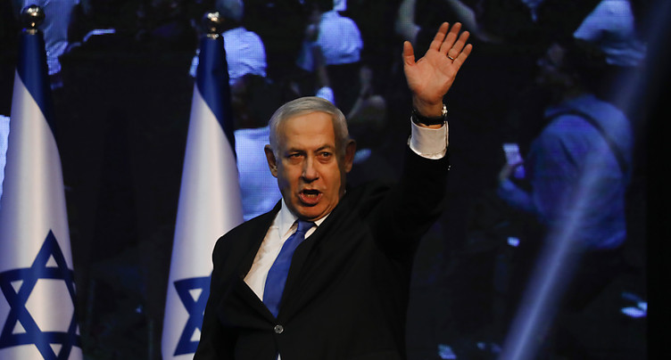 Israël: Netanyahu et Gantz à égalité