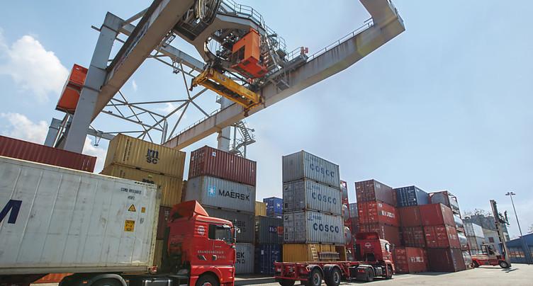 Les exportations helvétiques ont atteint un plancher en août