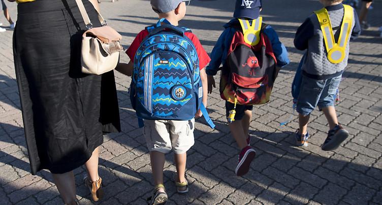 Le Pedibus accompagne les enfants à l'école depuis vingt ans