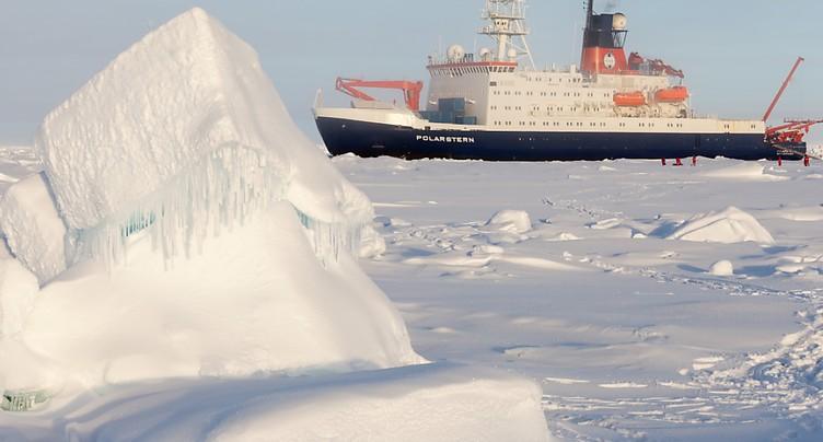 Des chercheurs suisses font partie d'une expédition en Arctique