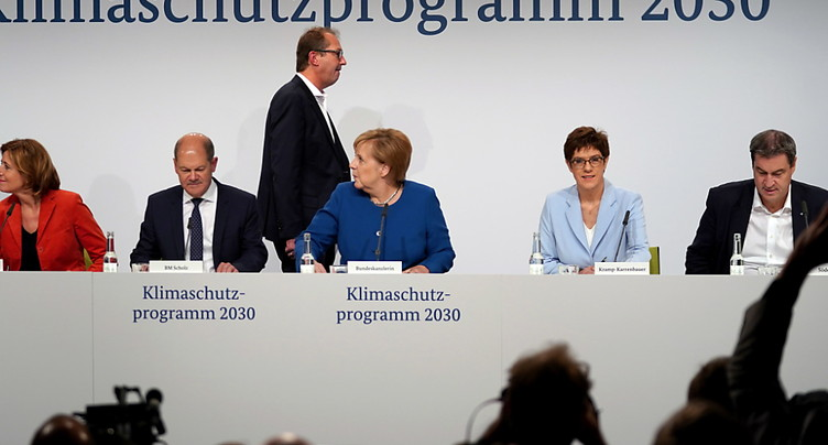 L'Allemagne accouche dans la douleur d'un grand plan climatique
