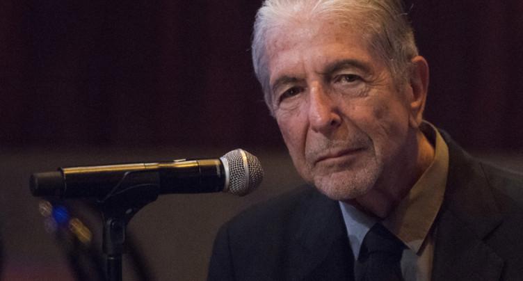 Un album posthume de Leonard Cohen prévu pour novembre
