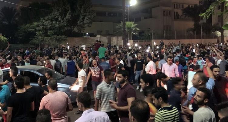 Rares manifestations anti-Sissi en Egypte
