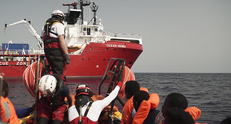 L'Italie autorise à débarquer 182 migrants secourus en Méditerranée