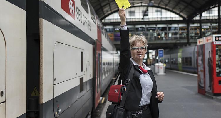 Nouveau processus de fermeture des portes des trains