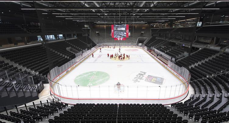Patinoire de Malley: place au hockey après le rush des travaux