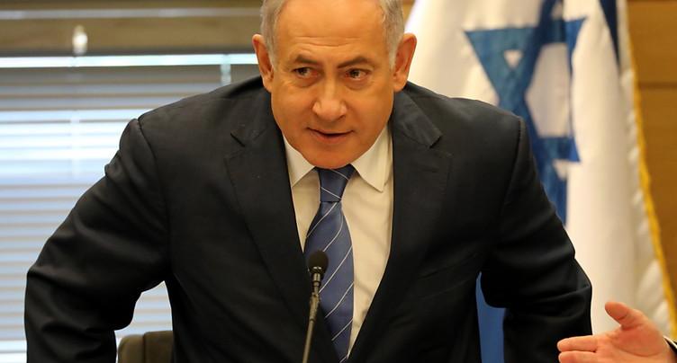 Israël Netanyahu et Gantz discutent d'un gouvernement d'union