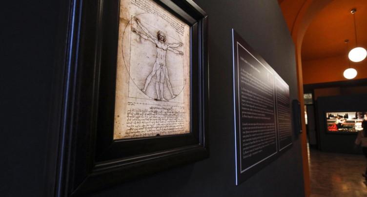 Exposition De Vinci: l'Italie suspend le prêt de l'Homme de Vitruve