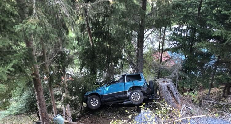 Un automobiliste valaisan de 19 ans se tue sur une route d'alpage