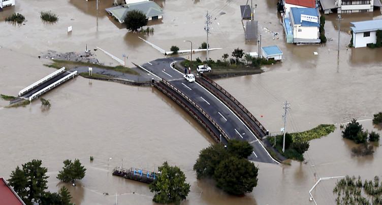 Le Typhon Hagibis a fait au moins 11 morts au Japon