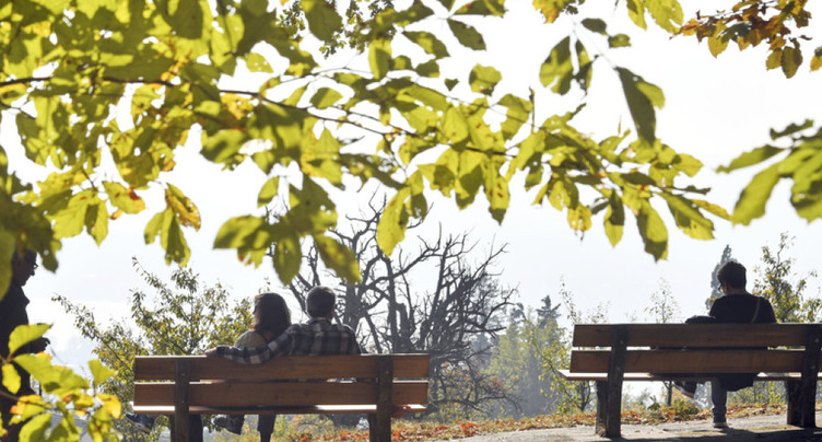Journée estivale en plein mois d'octobre: jusqu'à 25 degrés