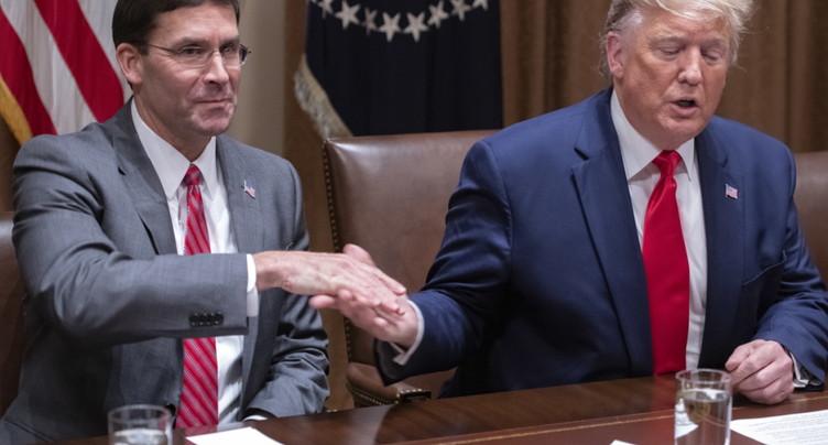 Destitution: le chef du Pentagone promet de coopérer avec l'enquête du Congrès