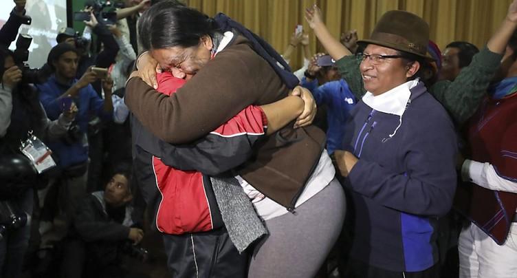 Gouvernement et indigènes trouvent un accord en Equateur