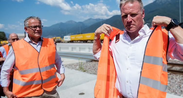 Nicolas Perrin quittera la direction de CFF Cargo en 2020